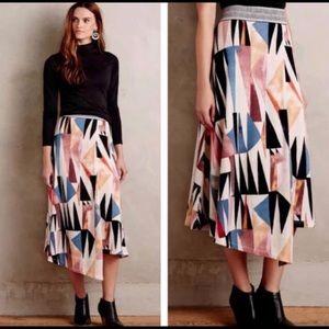 Cute Anthroplolgie Knit Skirt Large NWT